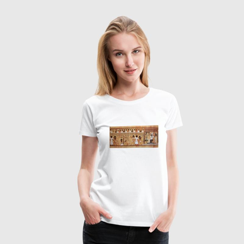 Egyptian Book of the Dead Women's T-Shirts - Women's Premium T-Shirt