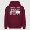 Arguing With Sociology Major Is Like Wrestling Pig - Men's Hoodie