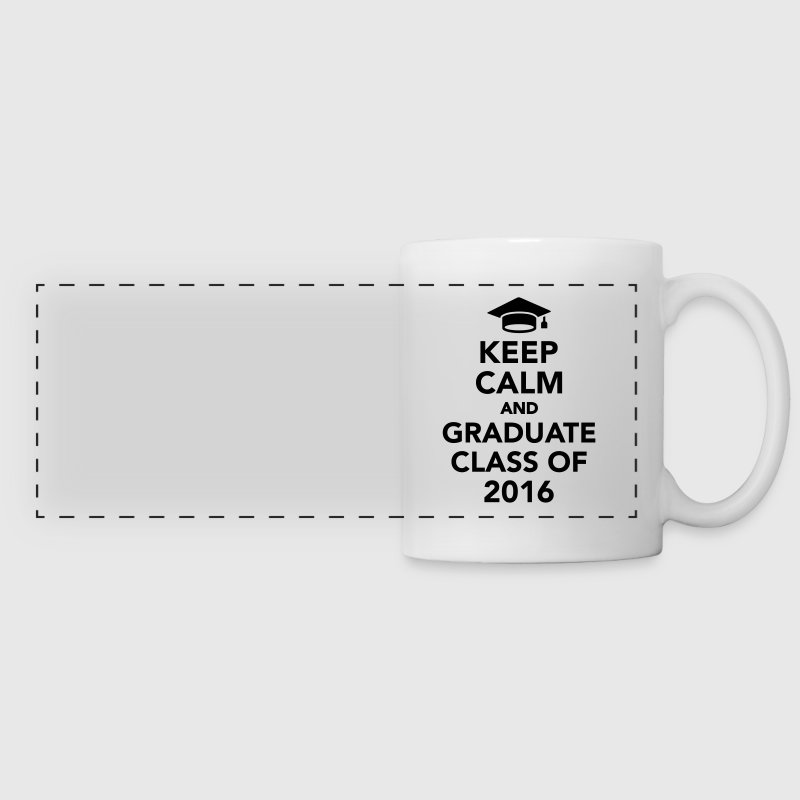 Keep calm and graduate class of 2016 Accessories - Panoramic Mug