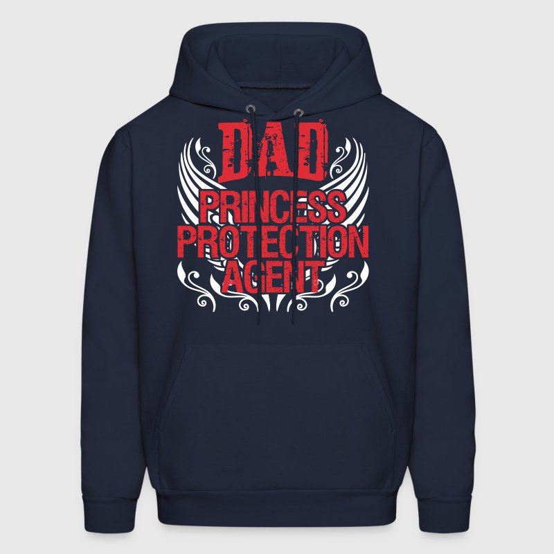 Dad Princess Protection Agent - Men's Hoodie