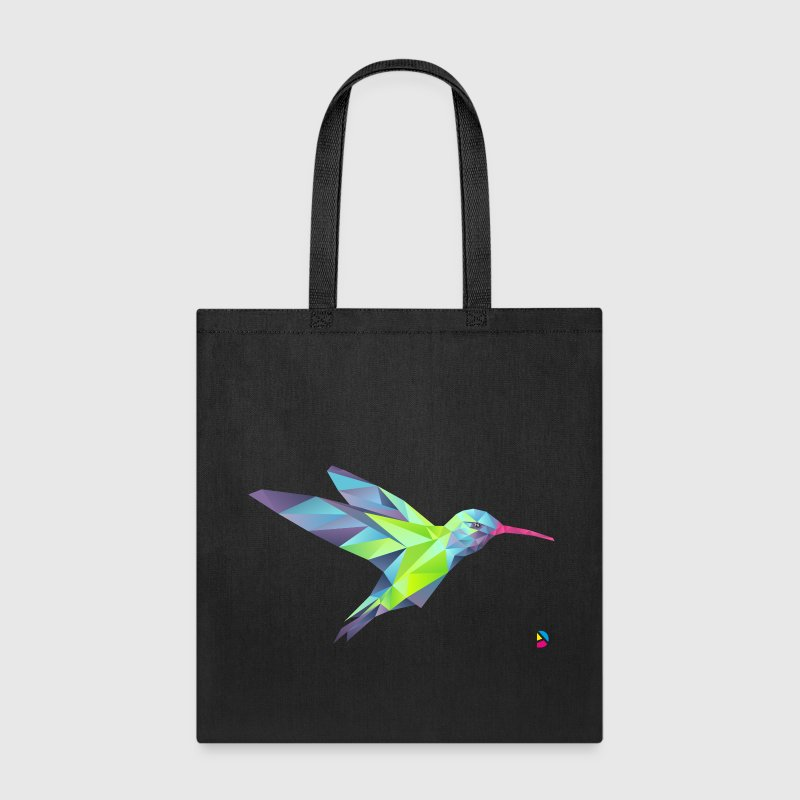 AD Geometric Hummingbird Bags & backpacks - Tote Bag
