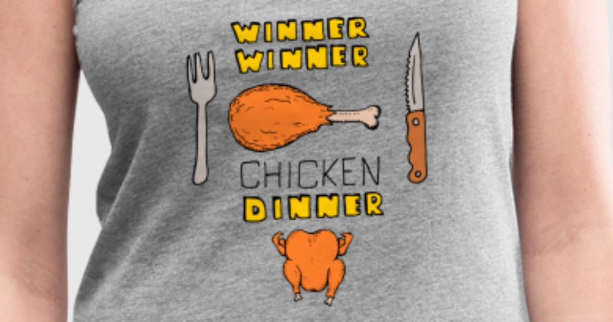 Winner Winner Chicken Dinner Wallpapers: Winner Chicken Dinner Tank Top