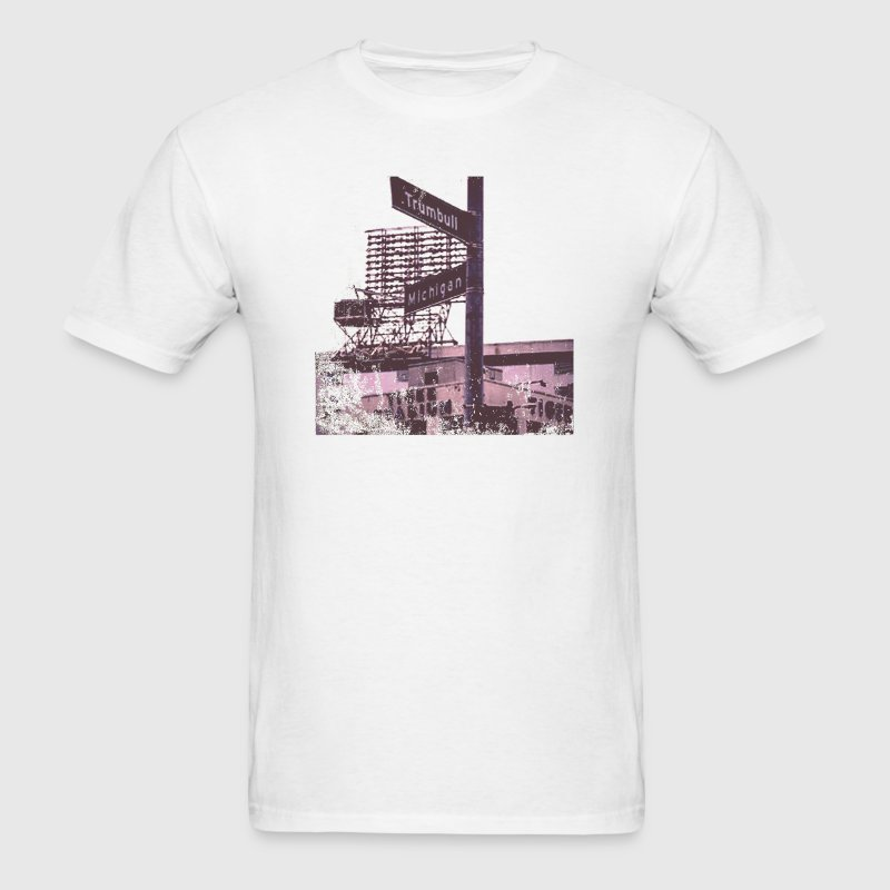 The Corner MIchigan And Trumbull T-Shirts - Men's T-Shirt