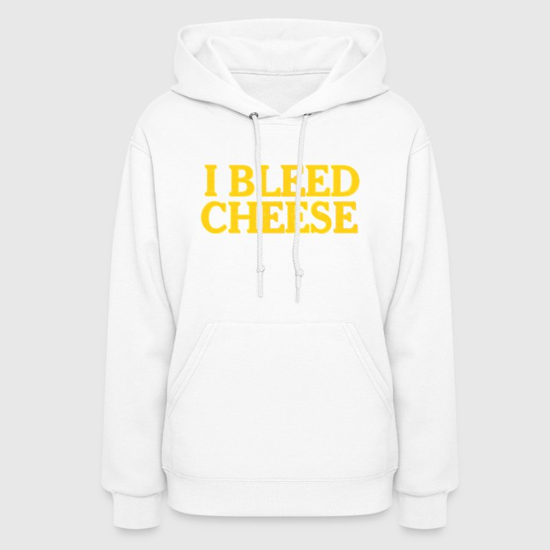 Funny Packer Cheesehead Bleed Cheese Hoodies - Women's Hoodie