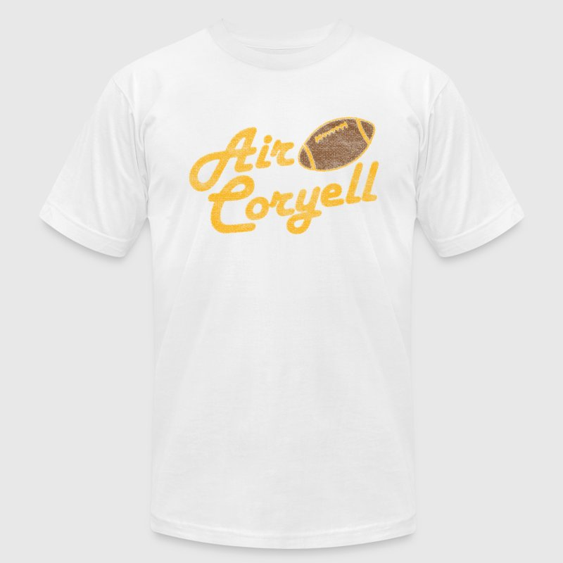 Classic Charges Air Coryell Throwback T-Shirts - Men's T-Shirt by American Apparel