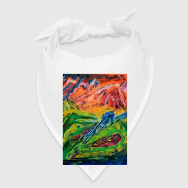 Realm of Fire Painting by Jason Gallant Mugs & Drinkware - Bandana