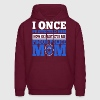 I Once Protected He Protects Me Proud Police Mom - Men's Hoodie