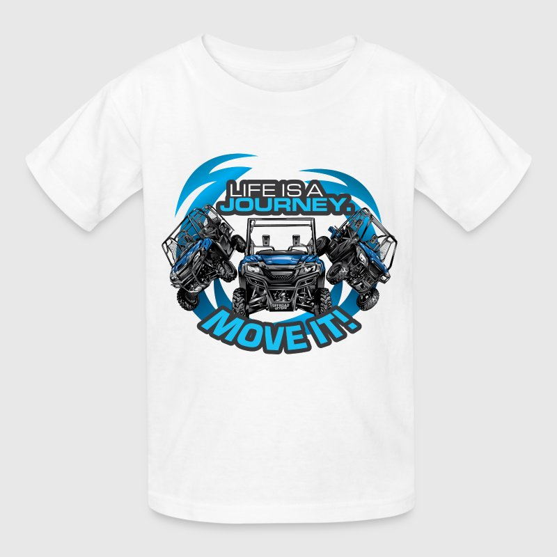 UTV SxS Move It Yamaha Kids' Shirts - Kids' T-Shirt