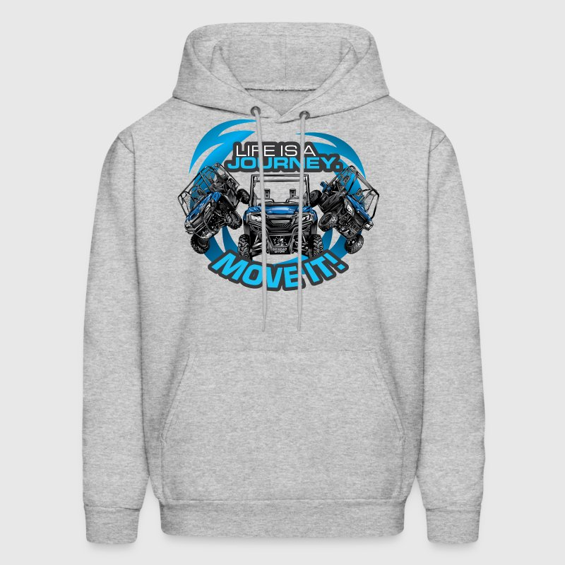 UTV SxS Move It Yamaha Hoodies - Men's Hoodie