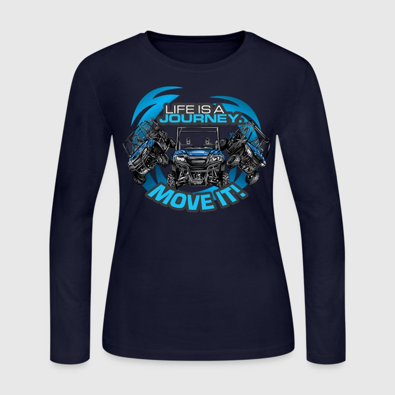 UTV SxS Move It Yamaha Long Sleeve Shirts - Women's Long Sleeve Jersey T-Shirt