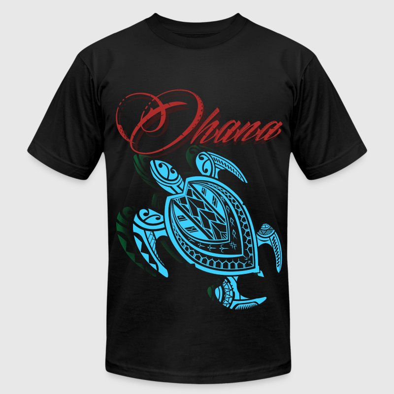 Alpha Turtle T-Shirts - Men's T-Shirt by American Apparel
