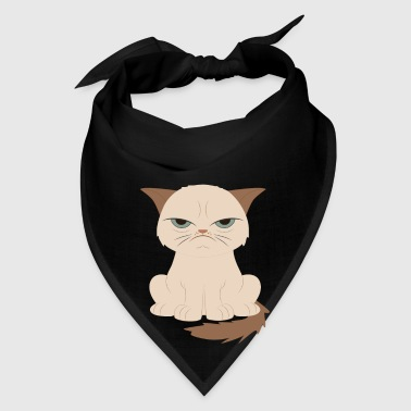 Bad-tempered cat - Bandana