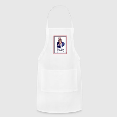 This FLAG...does NOT make me a Terrorist! Other - Adjustable Apron