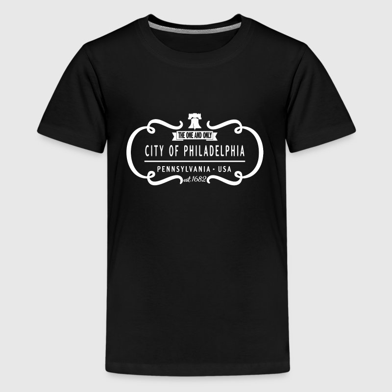 One and Only Philadelphia PA Logo Kids' Shirts - Kids' Premium T-Shirt