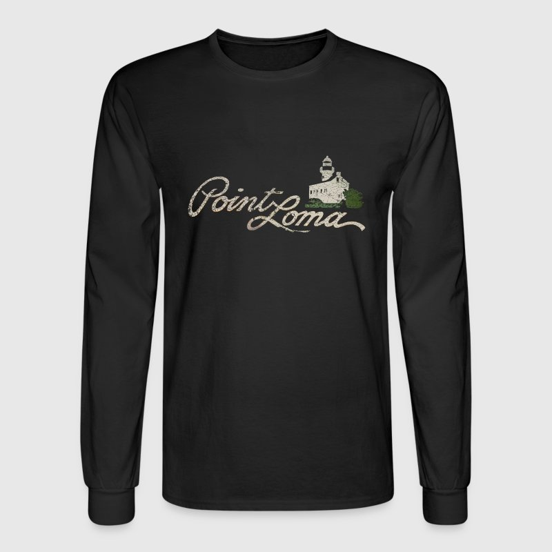 Point Loma San Diego California Beach Long Sleeve Shirts - Men's Long Sleeve T-Shirt