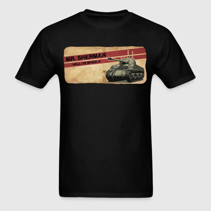 Sherman Tank - Men's T-Shirt