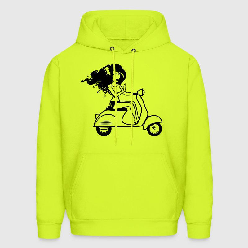 Scooter girl sexy T-Shirts - Men's Hoodie