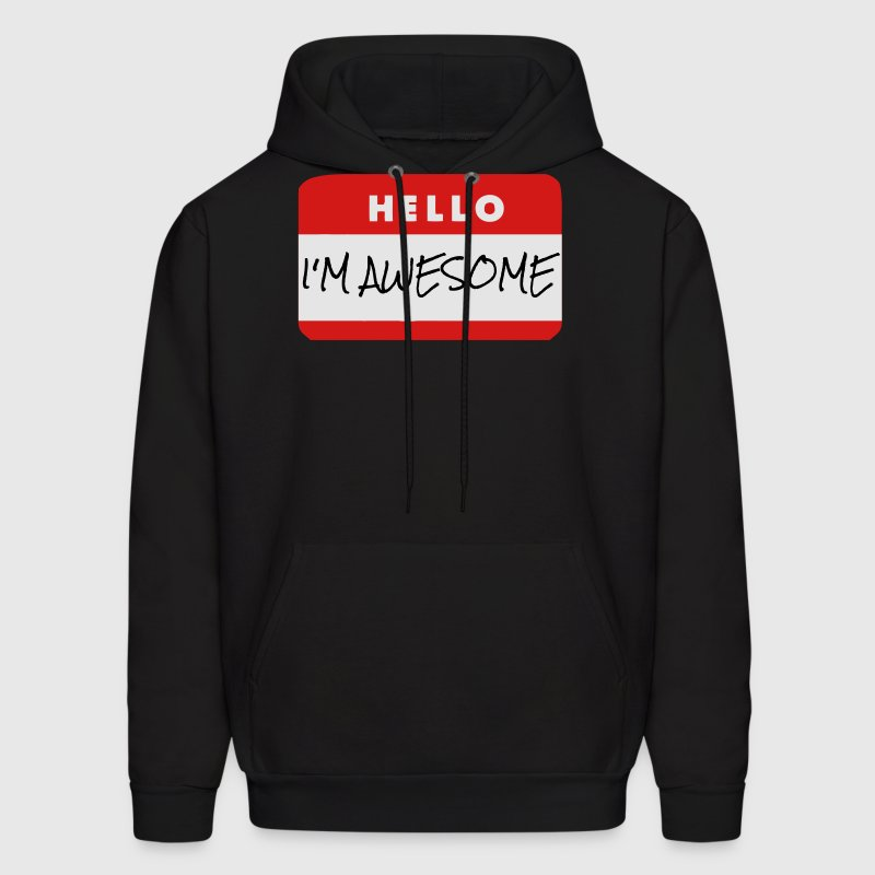 Hello, I'm Awesome - Hoodie - Men's Hoodie