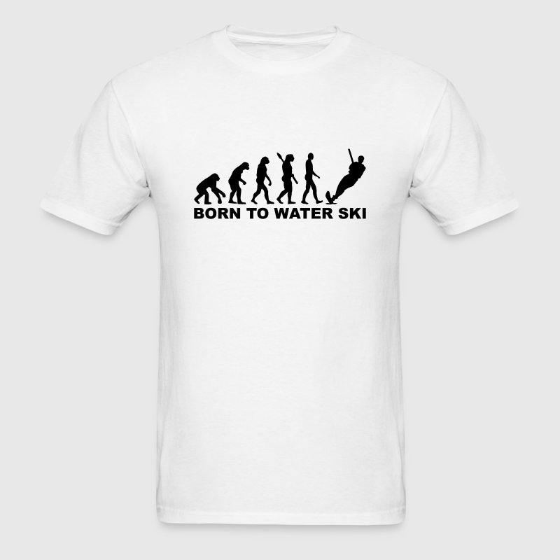 Evolution Water ski T-Shirts - Men's T-Shirt