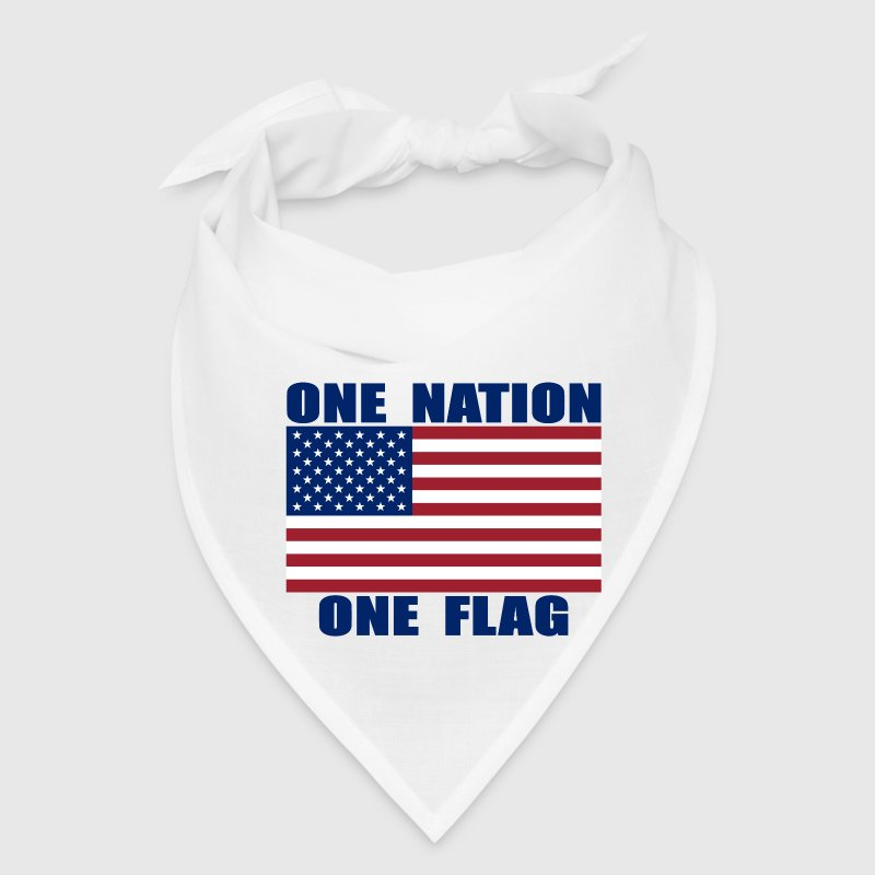 ONE NATION ONE FLAG Bandana - Bandana