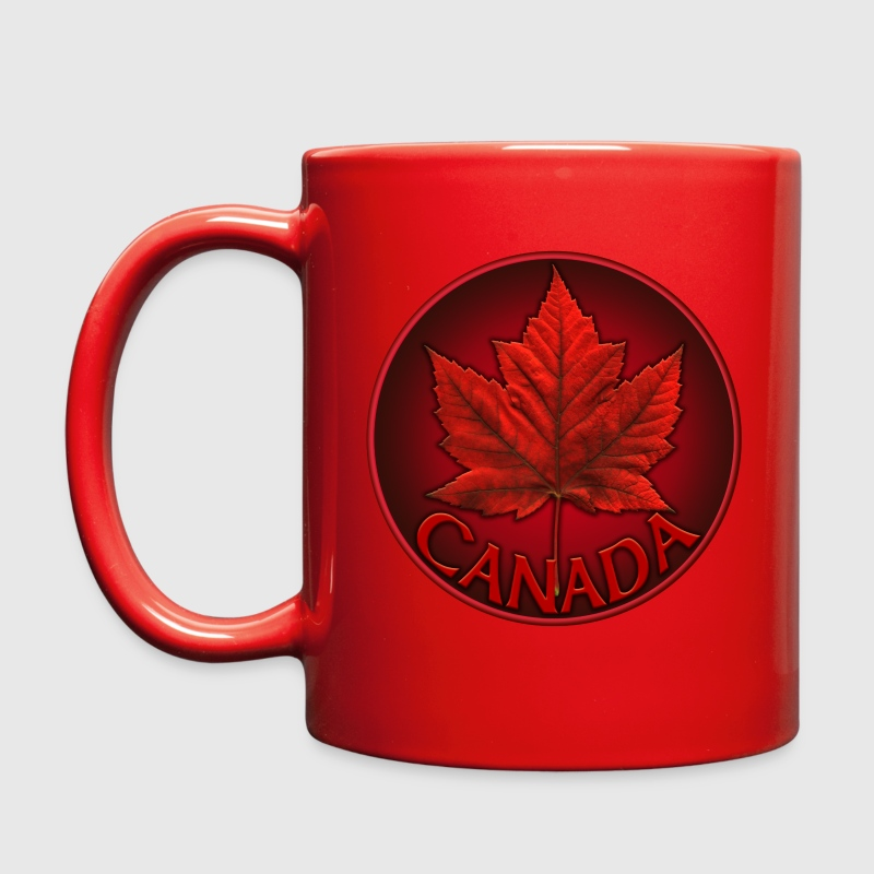 Canada Flag Cups Souvenir Mugs Red Canada Maple Le - Full Color Mug