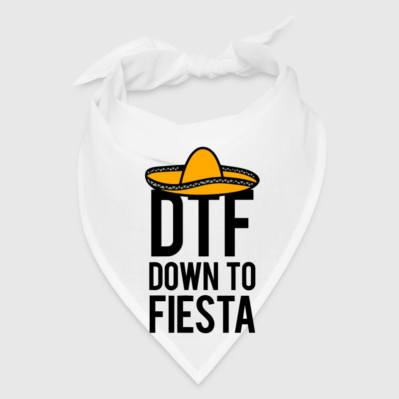 DTF DOWN TO FIESTA Caps - Bandana