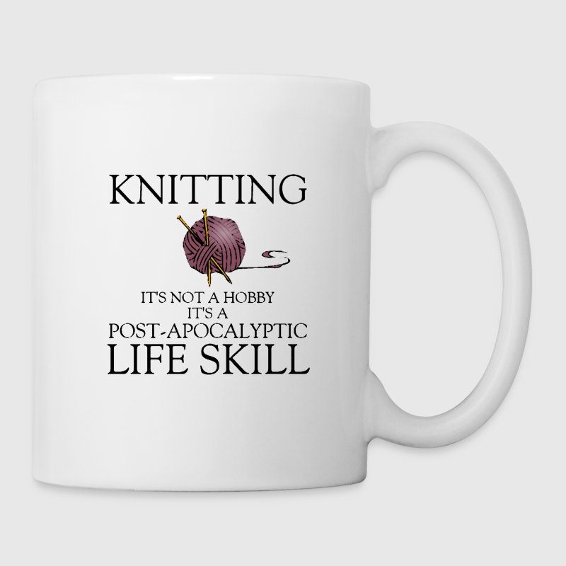 knitting is not a hobby funny coffee mug - Coffee/Tea Mug