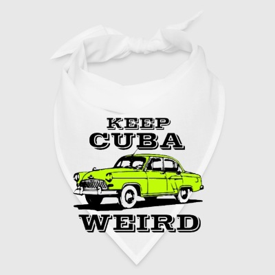 Keep Cuba weird vintage car Coffee Mug - Bandana