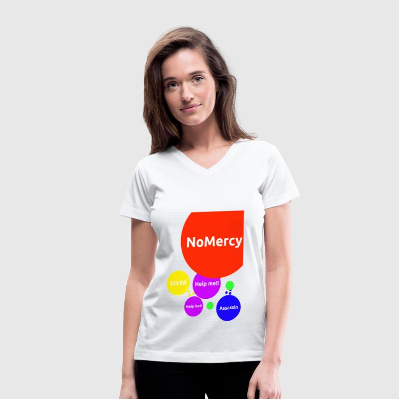 Agar.io Women's V-Neck T-Shirt - Women's V-Neck T-Shirt