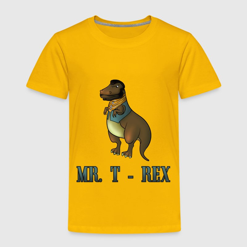 Mr. T Rex funny dino Baby & Toddler Shirts - Toddler Premium T-Shirt