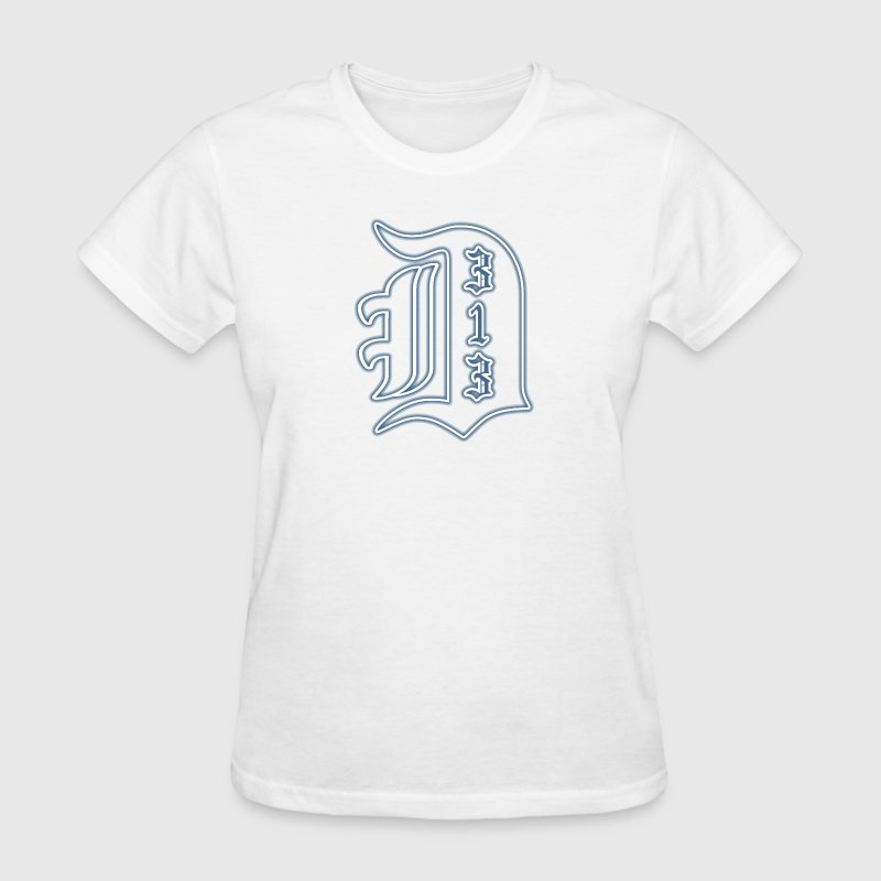 313 Big Detroit D Women's T-Shirts - Women's T-Shirt
