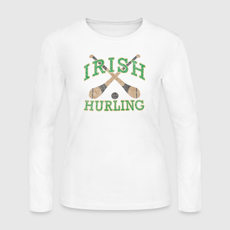 Irish Hurling Ireland Gaelic Games Long Sleeve Shirts - Women's Long Sleeve Jersey T-Shirt