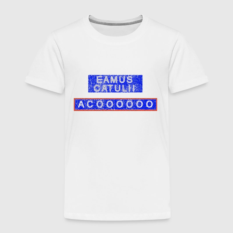 Eamus Catuli Chicago Wrigleyville Baby & Toddler Shirts - Toddler Premium T-Shirt