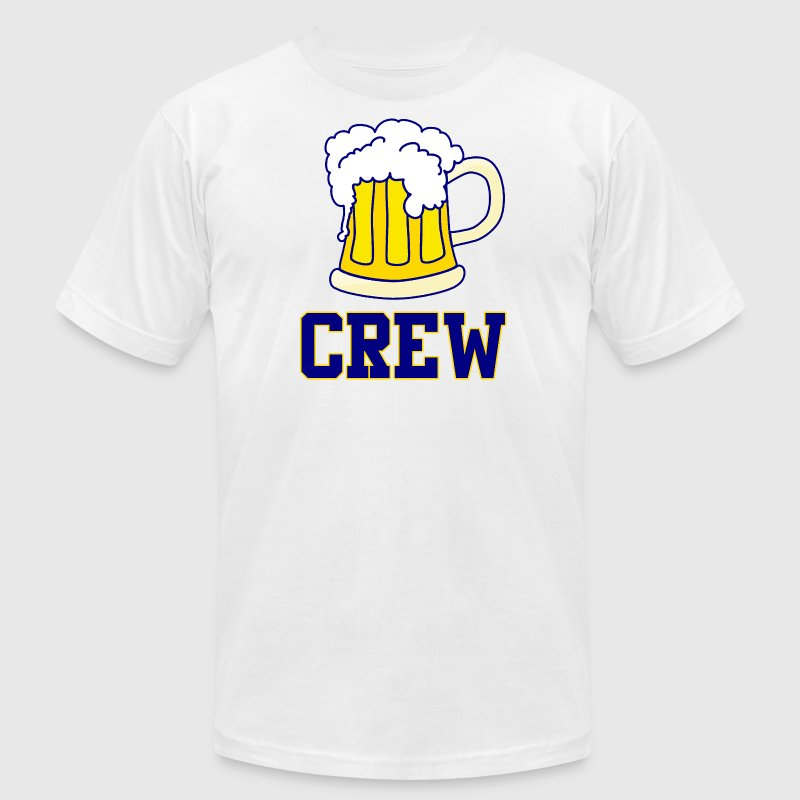 Milwaukee Brew Crew Beer Baseball T-Shirts - Men's T-Shirt by American Apparel