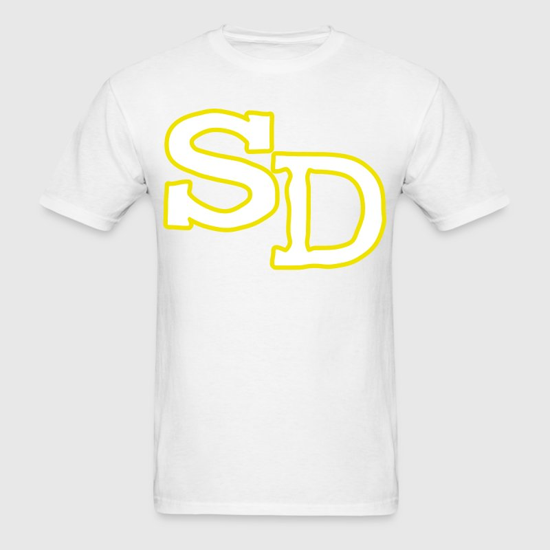 Old School SD San Diego T-Shirts - Men's T-Shirt