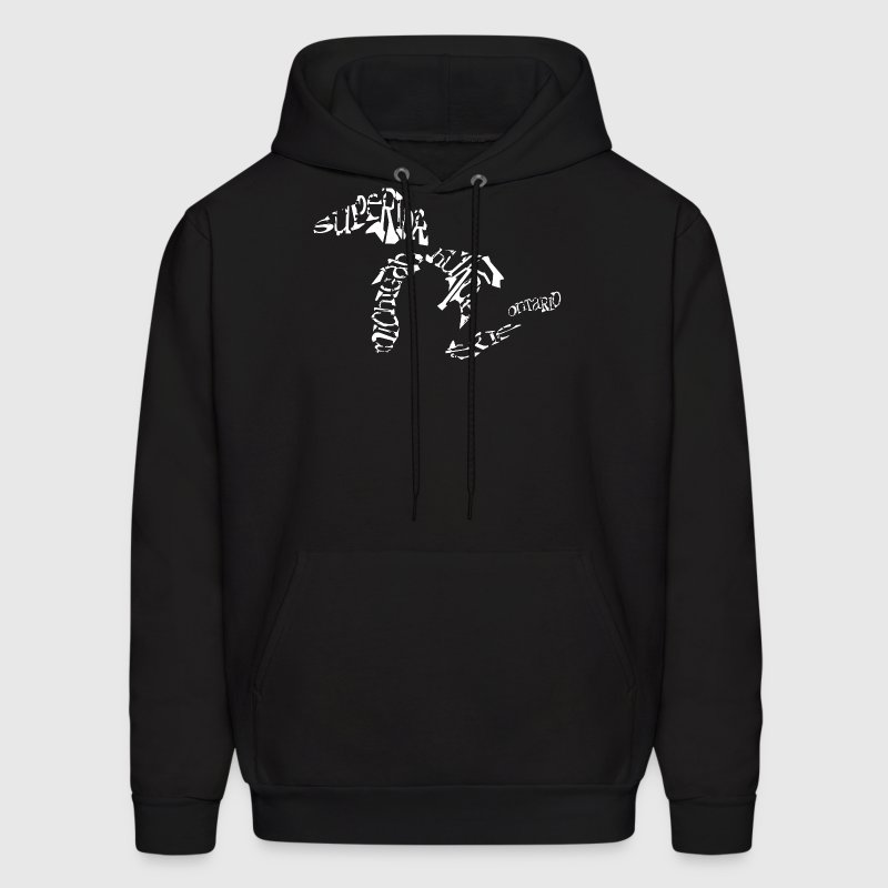 Great Lakes Words Design Hoodies - Men's Hoodie