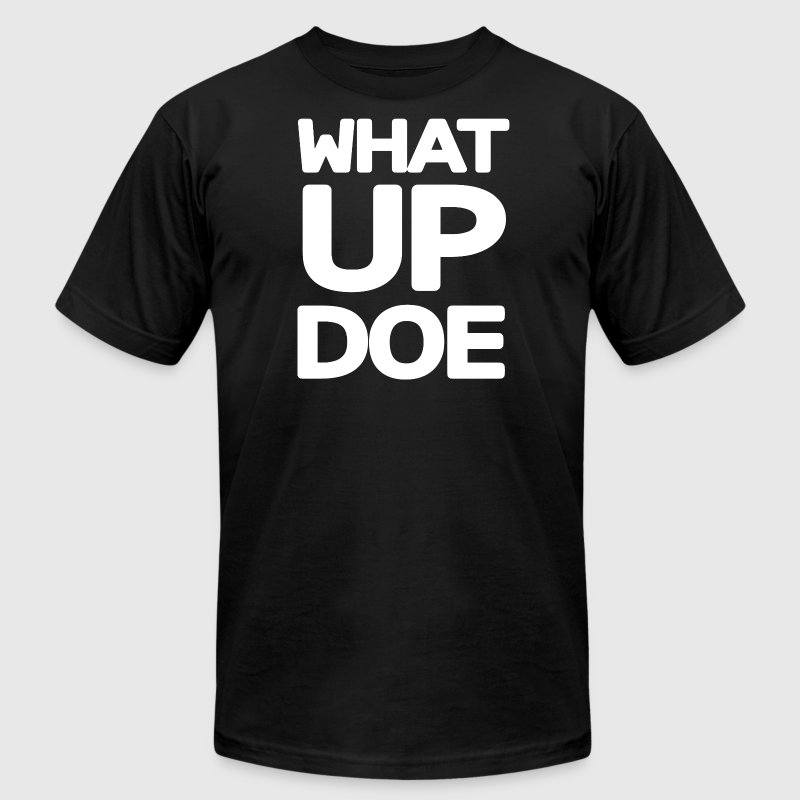 Big What Up Doe Detroit 313 T-Shirts - Men's T-Shirt by American Apparel