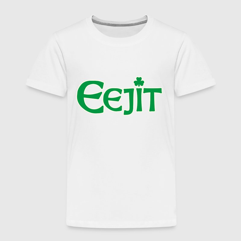Funny Irish Eejit Idiot Ireland Baby & Toddler Shirts - Toddler Premium T-Shirt