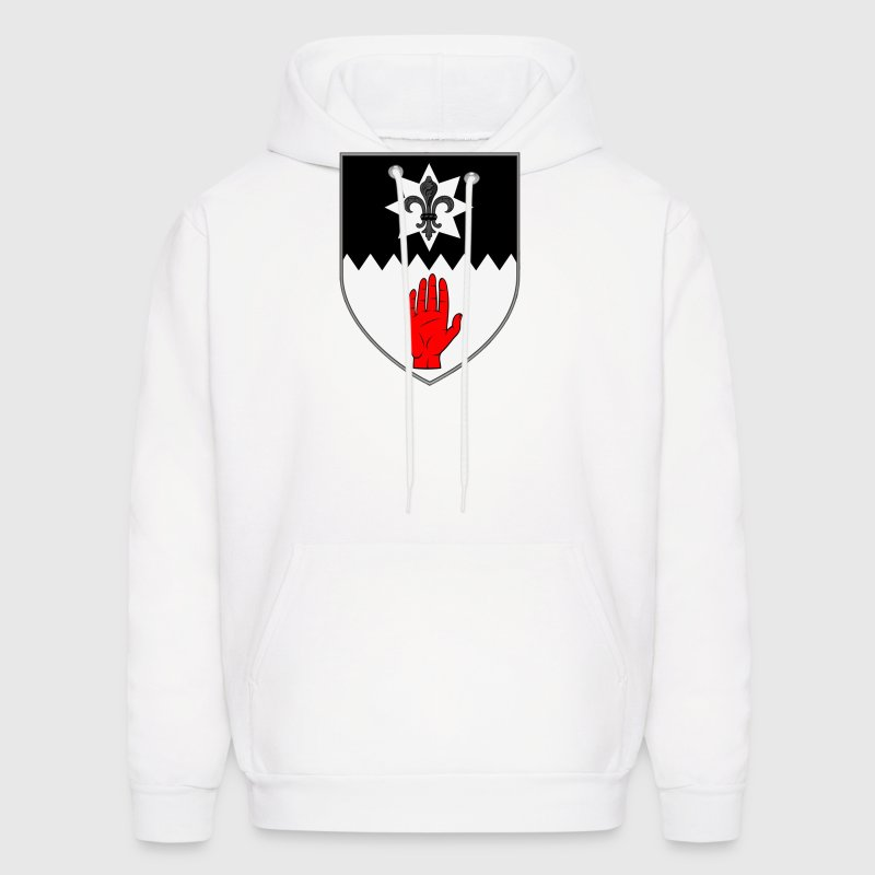 County Tyrone Ireland Irish Coat of Arms Hoodies - Men's Hoodie