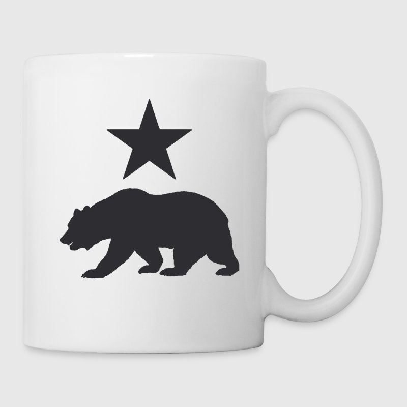 California Republic Grizzly Bear Coffee Mug - Coffee/Tea Mug