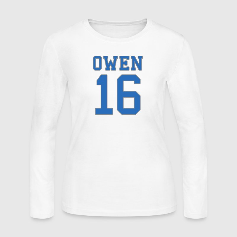 Lions Football Owen 16 0-16 Long Sleeve Shirts - Women's Long Sleeve Jersey T-Shirt