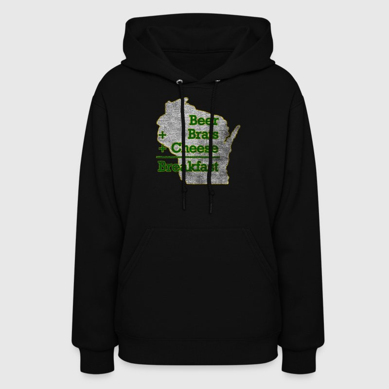 Wisconsin Beer Brats Cheese Funny Hoodie | Spreadshirt