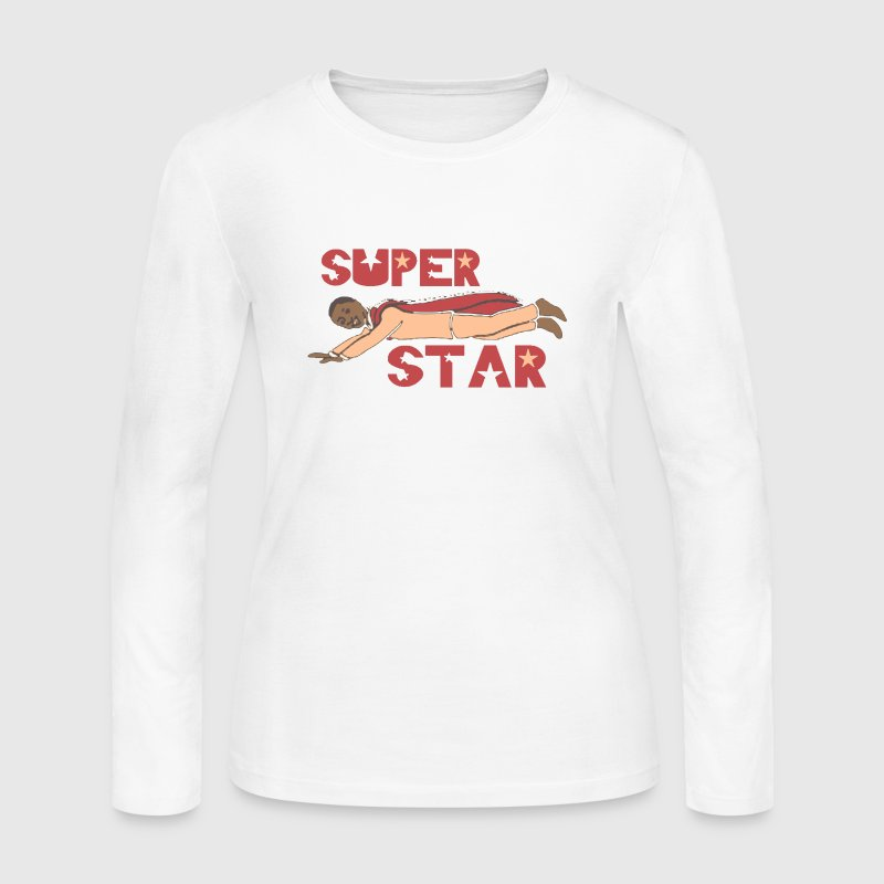 Old School Mel Farr Superstar Detroit Long Sleeve Shirts - Women's Long Sleeve Jersey T-Shirt