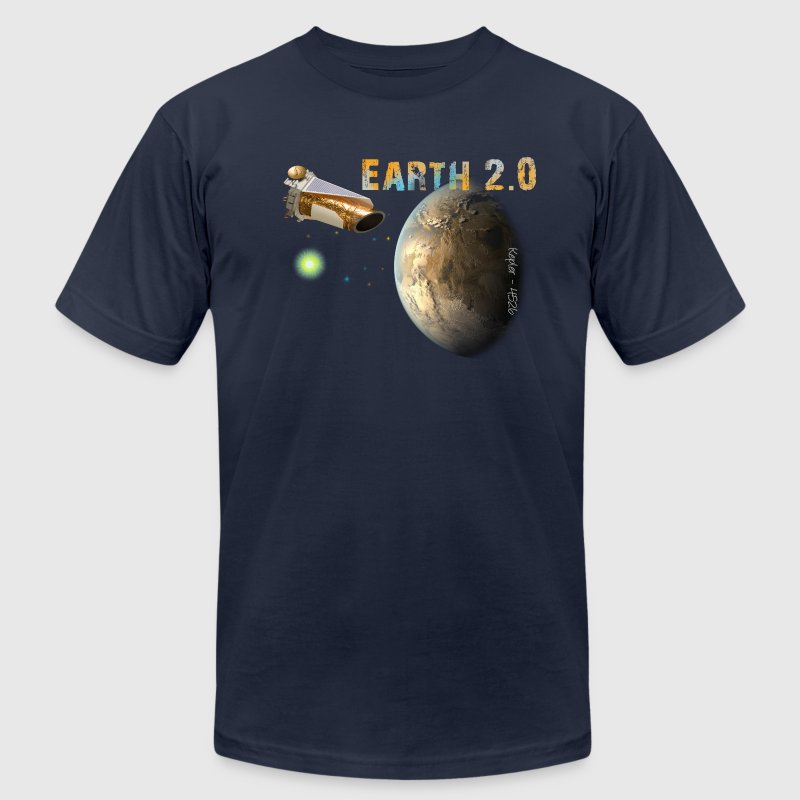 Kepler-452b T-Shirts - Men's T-Shirt by American Apparel
