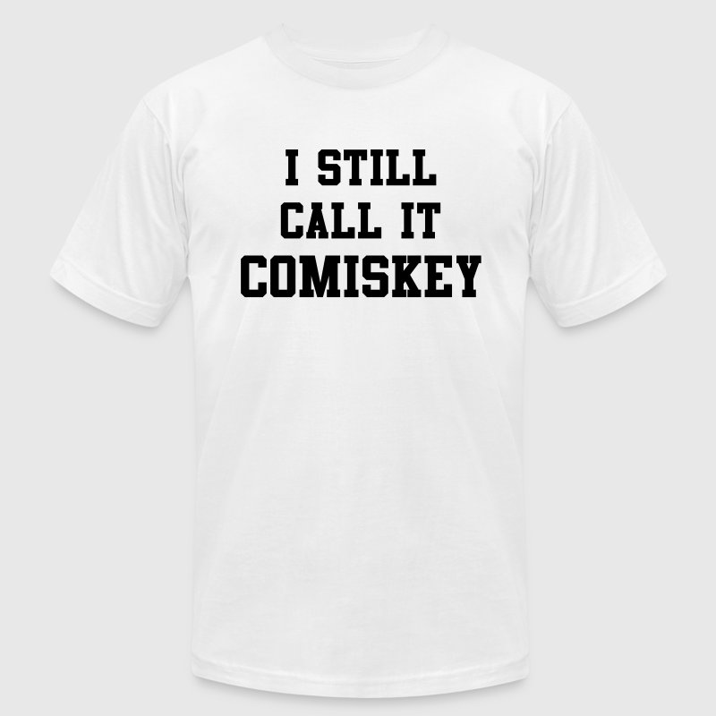 Chicago I Still Call It Comiskey T-Shirts - Men's T-Shirt by American Apparel