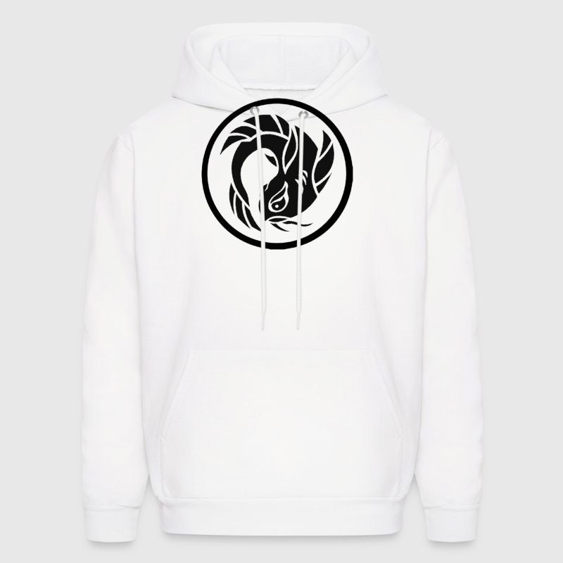 Circle Koi Fish Logo Hoodies - Men's Hoodie