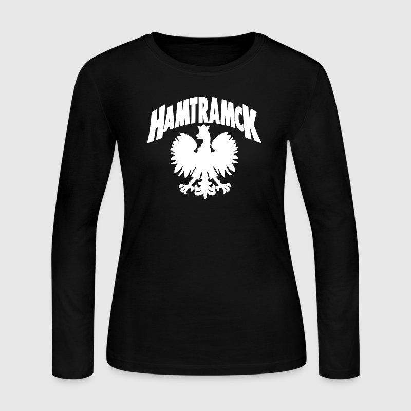 Hamtramck Detroit Polish Eagle Long Sleeve Shirts - Women's Long Sleeve Jersey T-Shirt