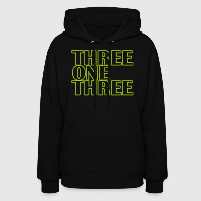 Three One Three 313 Detroit Hoodies - Women's Hoodie