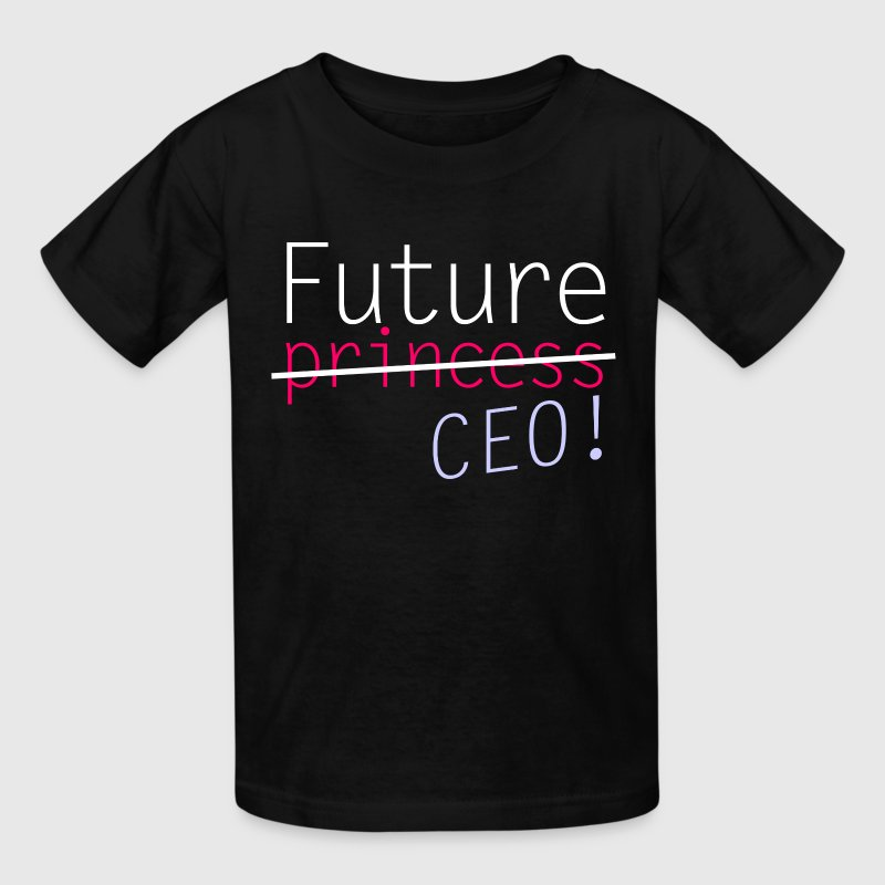 Future Princess CEO Kids' Shirts - Kids' T-Shirt