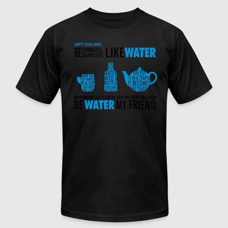 Like Water T-Shirt - Men's T-Shirt by American Apparel
